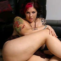 Steamy big tit knockout Dors gets bare naked & plays with her tight shaved slit