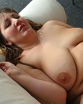 Horny fat chick gets drunk at party and then lies on her back and lets him bang her pussy